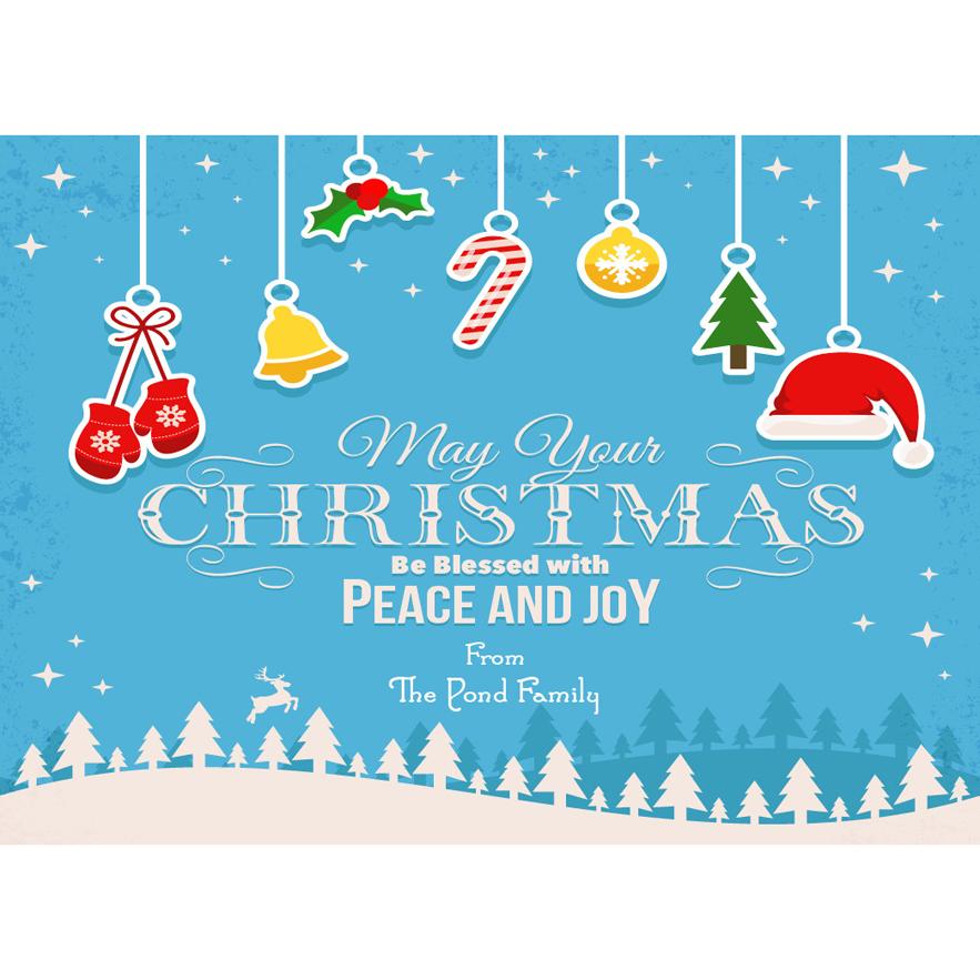 the print shop christmas cards